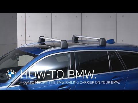How To Mount The BMW Railing Carrier – BMW How-To