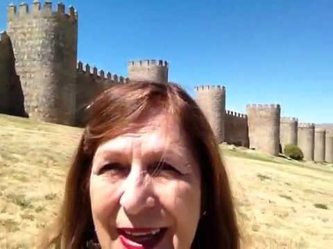 State of Happiness Kathleen Griffin in Avila Spain #5