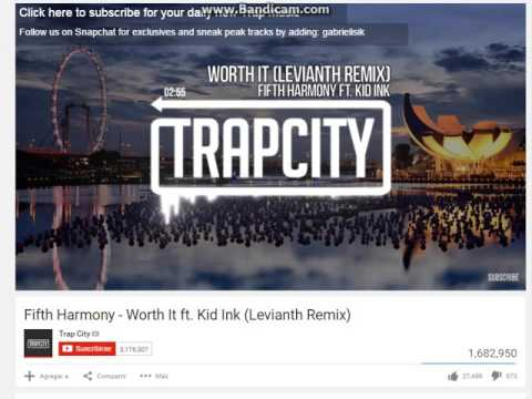 trap city fifth harmony worth it ft  kid ink. LEVIANTH REMIX
