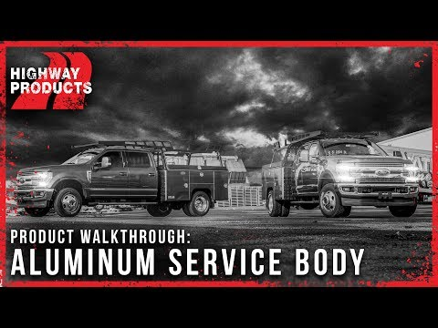 Aluminum Service Bodies by Highway Products