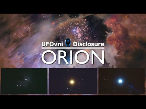 Telescope Orion, The Incredible Constellation of The Hunter (Video 4K)