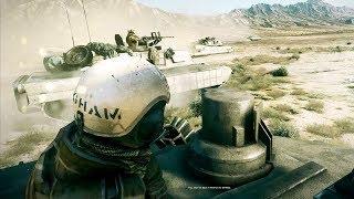 """EPIC US Desert Tank Battle [4K] - Battlefield 3 """"Thunder Run"""" Desert Storm Tank Mission"""