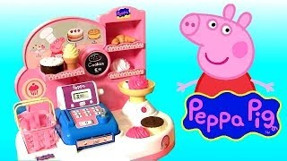Cooking Peppa Pig Pastry Shop with Cash Register Toy - Pastelería Pasticceria Pâtisserie Bäckerei