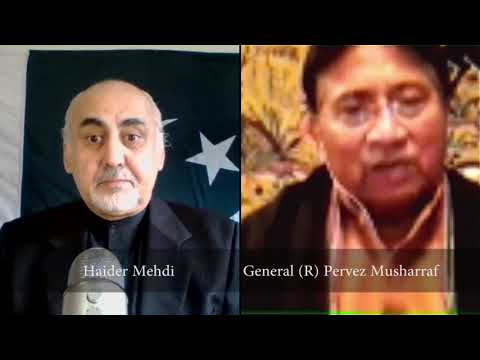"23rd Nov 17   Part 2 - General Pervez Musharraf on ""Perspectives"" with Haider Mehdi"