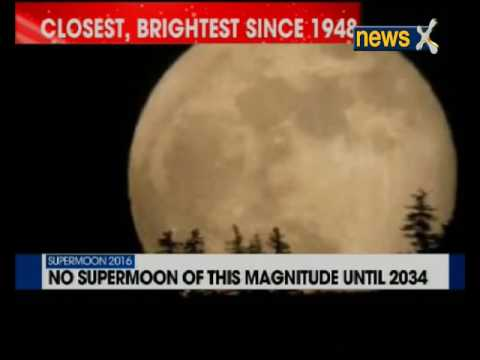 Supermoon will the closest full moon since 1948