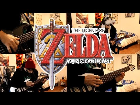 Zelda A Link to the Past goes Metal - Dark World Theme