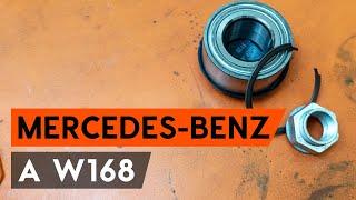 Montaje Cilindro de freno delantero y trasero MERCEDES-BENZ A-CLASS: vídeo manual
