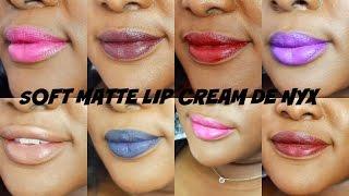 * Beauty * Revue et Swatchs des Soft Matte lip Cream de NYX