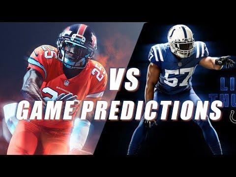 Denver Broncos vs Indianapolis Colts Predictions