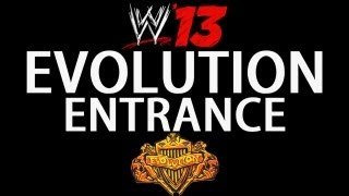 WWE 13 - Evolution Entrance (Triple H, Batista, Randy Orton)