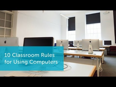 10 Classroom Rules For Using Computers