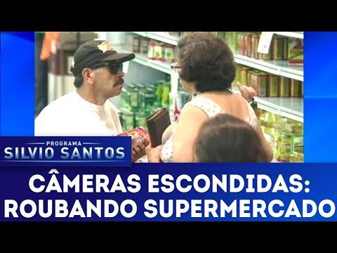Roubando Supermercado | Câmeras Escondidas (22/04/18)