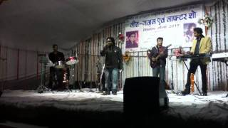 "OMKAR G (NATTHA) Singing..""SAAS GALI DEVE..."".with ANIL OJHA"