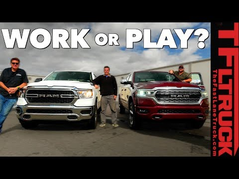 2019 Ram Tradesman vs Limited: Here's What $22K Gets You!