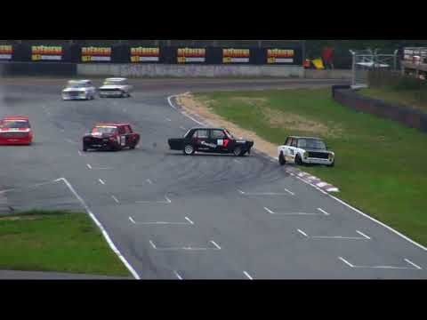 VAZ 2018. Race 1 Bikernieki Race Track(3). Crash