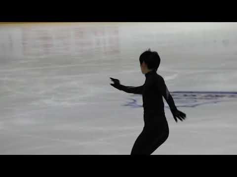 20181101 Helsinki Grand Prix - Yuzuru Hanyu OP Run Through - Otonal