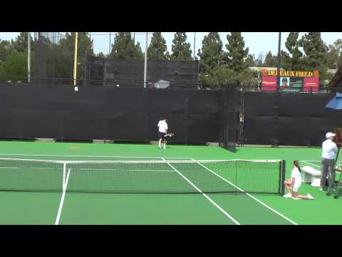 04 03 2010 Cal Vs USC mens tennis singles 4 of 16