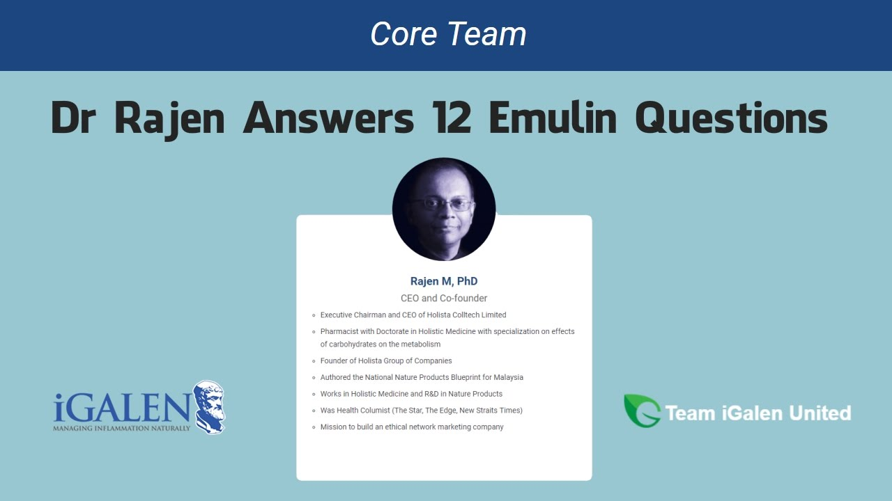 Emulin questions answered by igalen ceo dr rajen manecka team emulin questions answered by igalen ceo dr rajen manecka team igalan united malvernweather Images