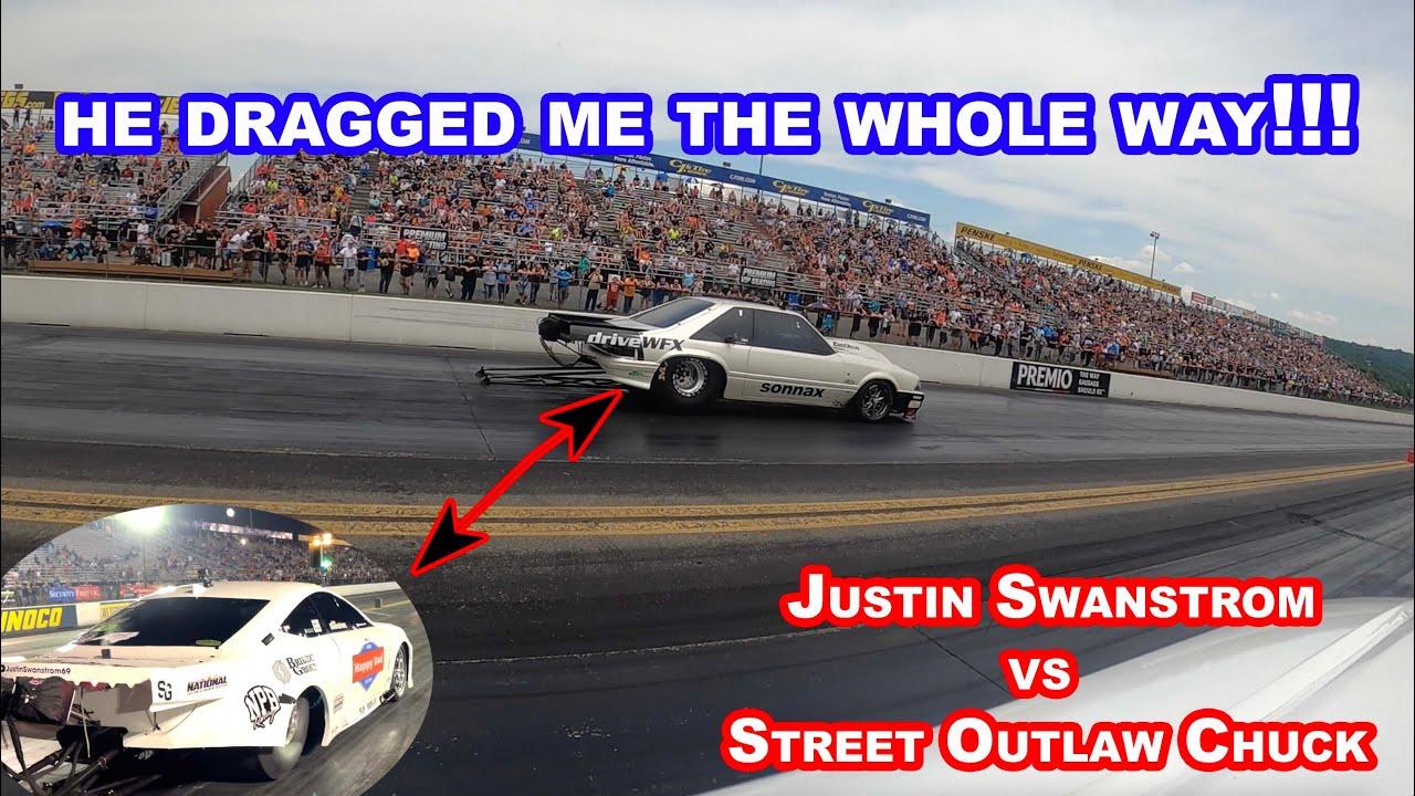 GOT MY A** BEAT BY STREET OUTLAW CHUCK!