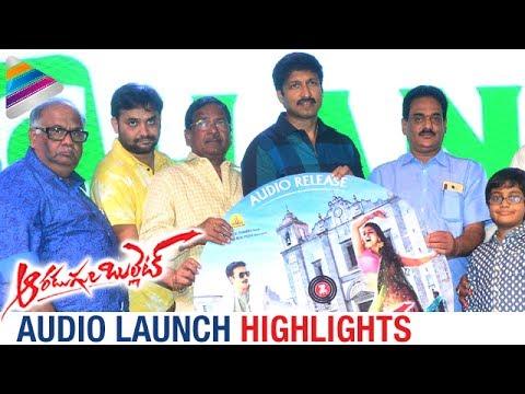 AARADUGULA BULLET Telugu Movie Pre Release Event Highlights | Gopichand | Nayanthara | B Gopal