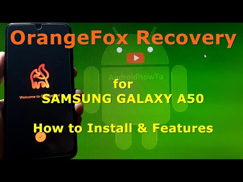 OrangeFox Recovery for Samsung Galaxy A50