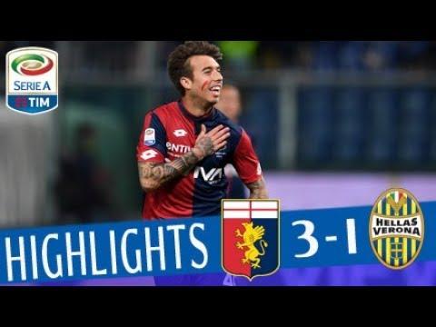 Genoa - Verona 3-1 - Highlights - Giornata 34 - Serie A TIM 2017/18
