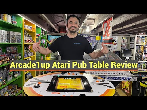 Atari Pong Pub Table by Arcade1up Gameplay and Review - Why Did They Do This?! from UrGamingTechie