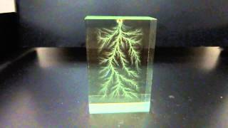 3D Lichtenberg figures