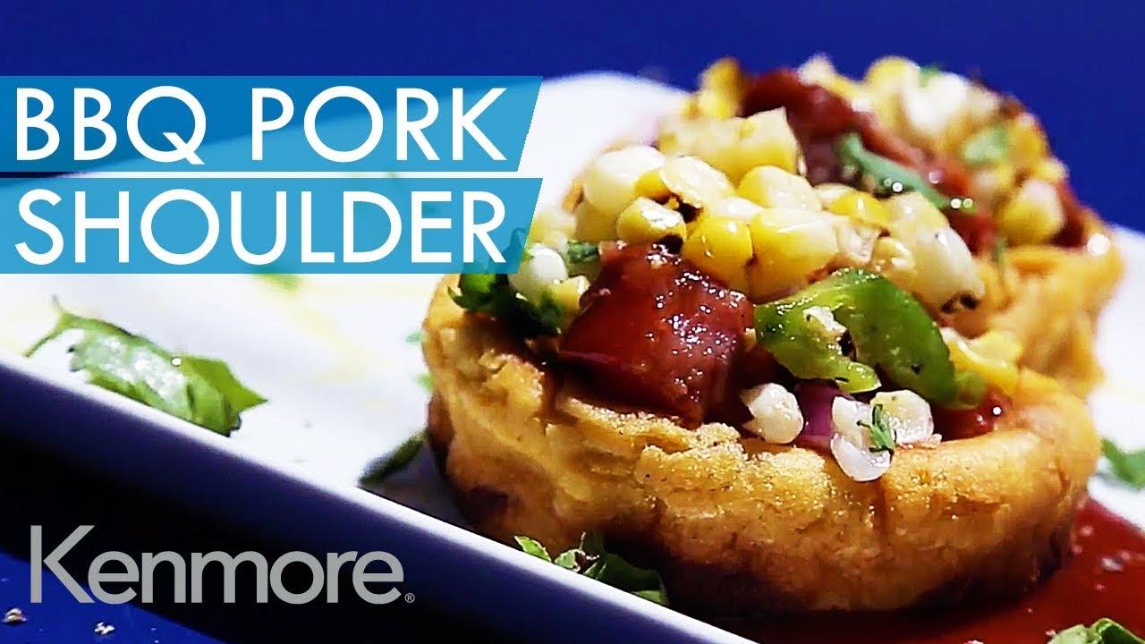 Grilled Bbq Pork Shoulder Recipe Kenmore Barbecue Recipes Dinner Ideas