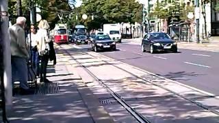 Linie 1 Einfahrt in Wiener Börse