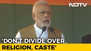 With Eid, Holi Reference, PM Modi Attacks Akhilesh Yadav On