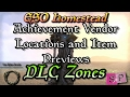 ESO: Achievement Furniture Vendors - DLC Zones