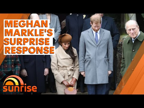 Meghan Markle responds to death of Prince Philip sparking cr