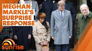 Meghan Markle responds to death of Prince Philip sparking criticism | 7NEWS