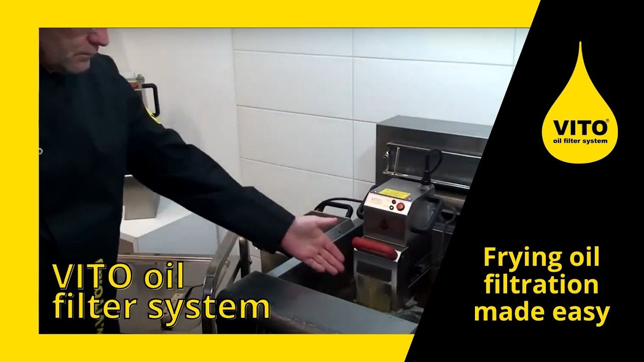 Vito 174 Oil Filter System Frying Oil Cooking Oil