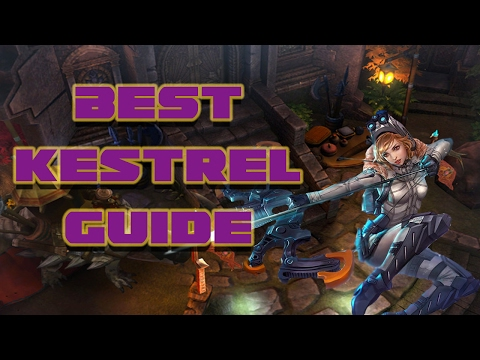 BEST KESTREL GUIDE | VAINGLORY - BLOW UP YOUR OPPONENTS!