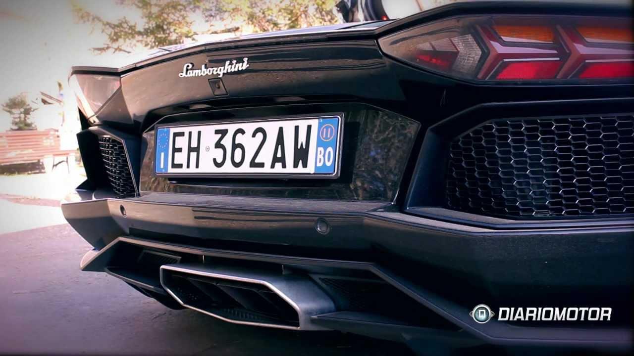 Lamborghini Aventador LP700-4 arranque y sonido del motor (start up & engine sound)