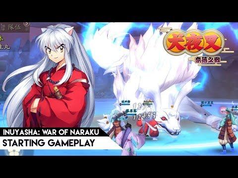 Inuyasha: War Of Naraku (TW) - Starting Gameplay