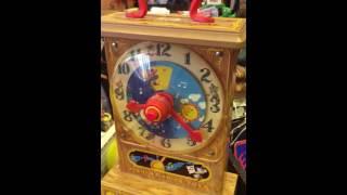 Fisher price music box tick tock clock