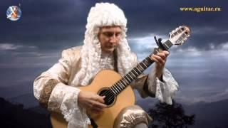 J. S. Bach: Air (Fingerstyle guitar) - играет Вячеслав Шувалов