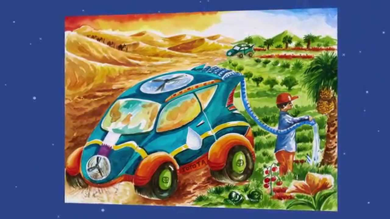 9th Toyota Dream Car Art Contest Collection Youtube