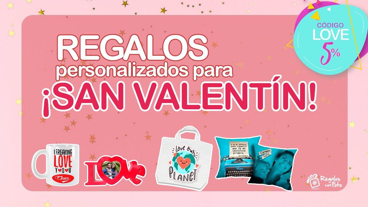 ¡SAN VALENTÍN con REGALOS originales!
