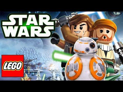 Лего Звёздные войны мультик на русском Пробуждение силы. Мультики лего. Видео для детей