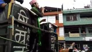 Nishan bhattarai returns to his home town, Nepal idol