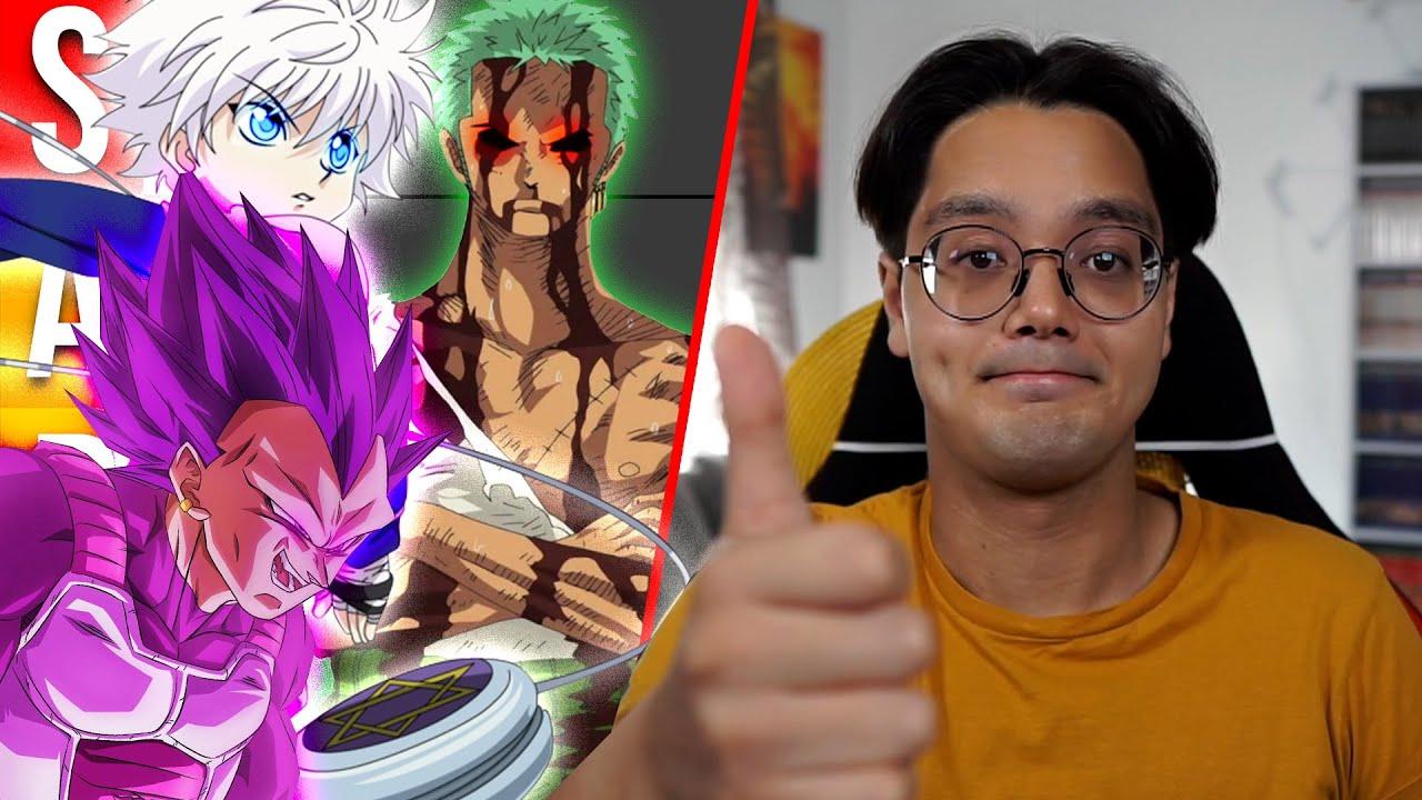 Raafeys 'SIDE KICK' Anime Tier List