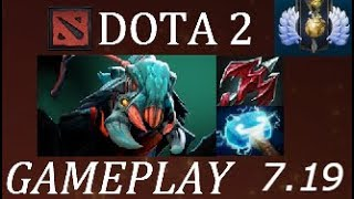 Dota 2 7.19c Weaver Carry Ranked Gameplay Commentary Live Stream: h...