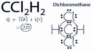 CCl2H2 Lewis Structure: How to Draw the Lewis Structure for CCl2H2