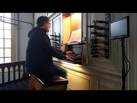 Bach, 'An wasserflüssen Babylon' BWV 653, Bram Brandemann, orgel