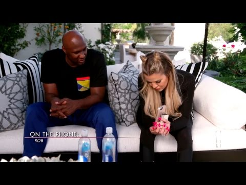 Khloe Kardashian and Lamar Odom Give Advice to Rob Kardashian: 'Marriage Ain't Easy'
