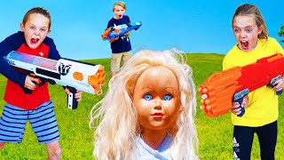 Kids Fun TV Crazy Doll Compilation! Sneaky Doll Videos in Order!